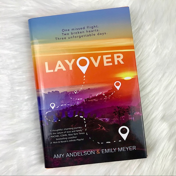 Book Layover Book by Amy Andelson and Emily Meyer